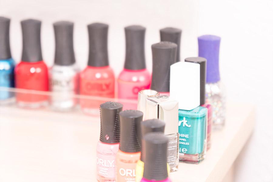 A selection of nail polish from Bella Beauty